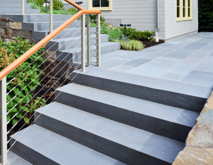 ADA Compliant Steps and Railings