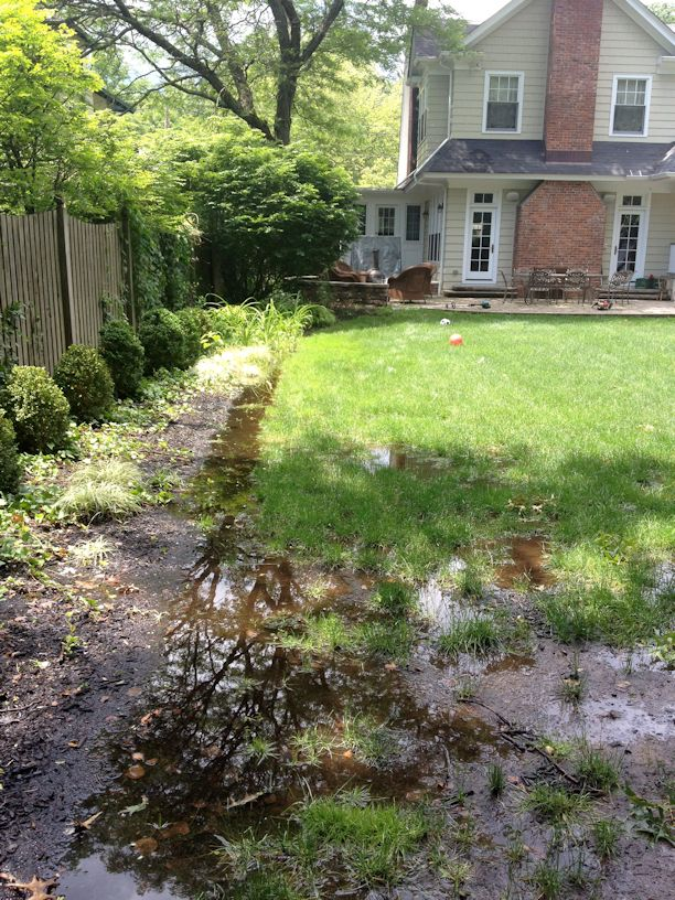 As stormwater rains down, it runs downhill. This means it ...