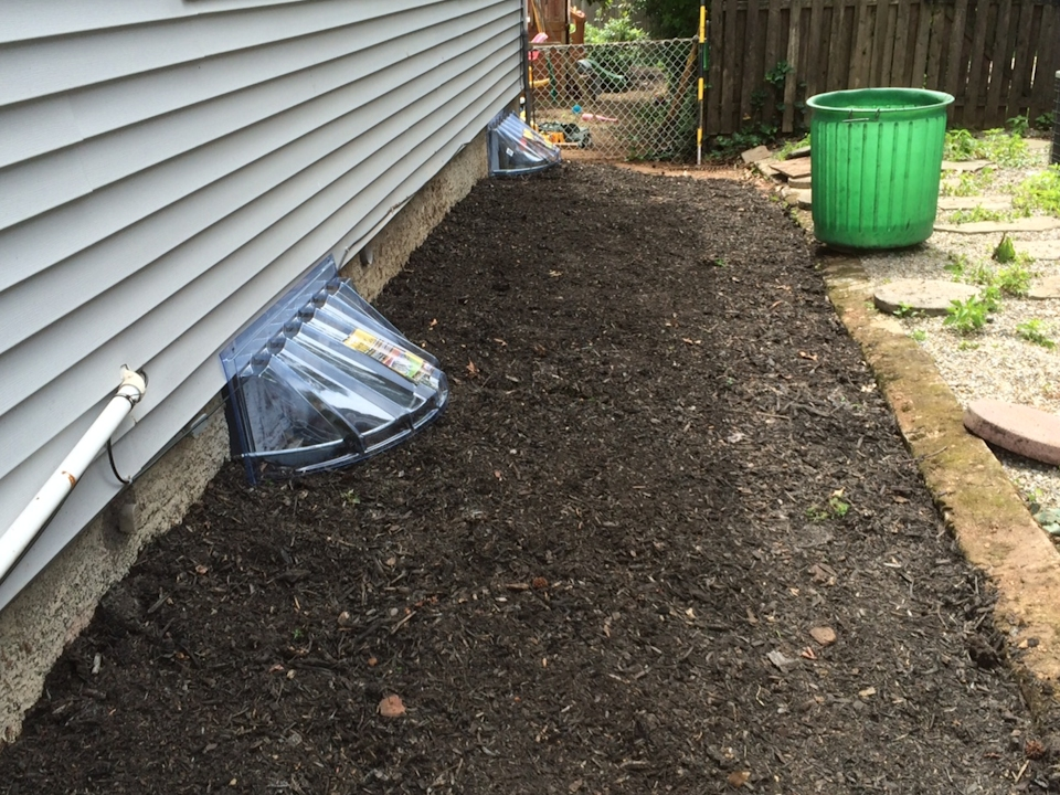 Westfield yard drainage driveway drainage and landscaping for Drainage solutions for lawns
