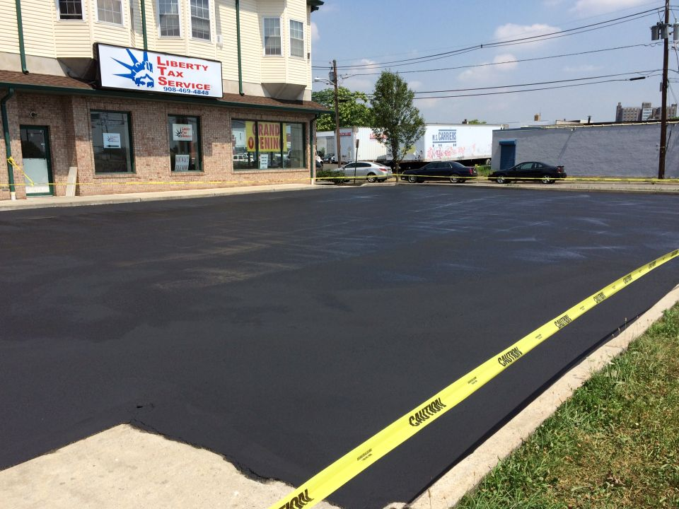 Union County Parking Lot Maintenance Repair And Sealcoating