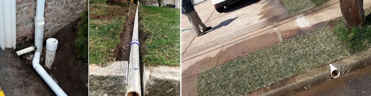 Titan Westfield Stormwater Drainage Before and After